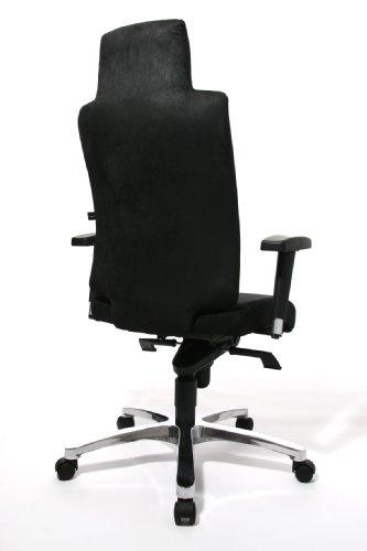 Topstar SC69TTA0 Chefsessel Sitness Chief 100 inklusive Armlehnen, Bezug schwarz - 4