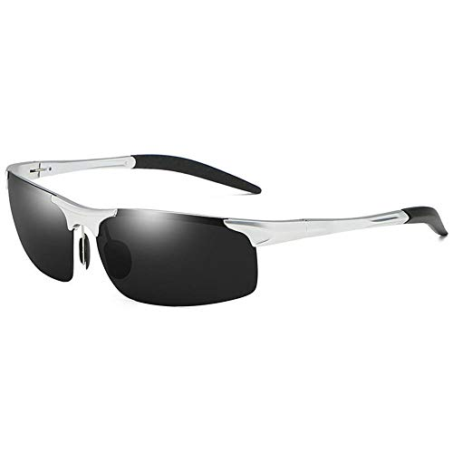 ANSKT Sport-Sonnenbrille, Aluminium Magnesium Outdoor Sports Ride Anti-UV-Bewertung: UV400 @ 3