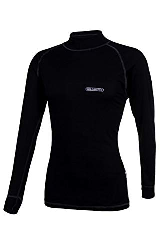 Ercole Herren Thermounterwäsche Funktions-Shirt Langarm/Öko-Tex Standard 100 Silver+ | 05906728415308