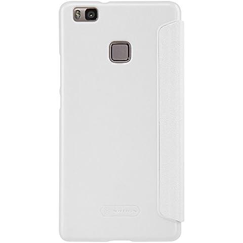 Nillkin Sparkle–Funda de piel sintética para Huawei P9lite, color blanco