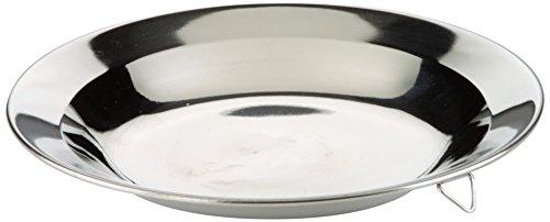 IBILI 711224 Assiette, INOX, Argent, 24 cm
