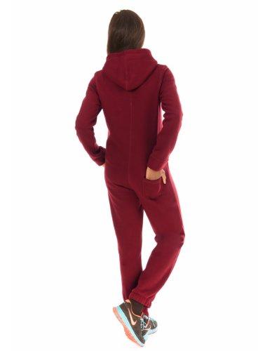 Balingi Jumpsuit pour femme BA10369 Weinrot