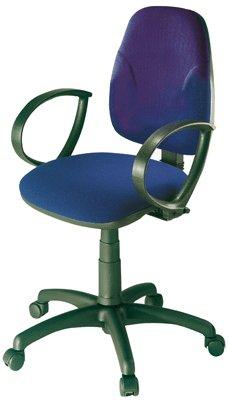 Chaise-Dactylo-Neptune-Bleu