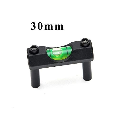 FMN-TOOLS, Taktische Zielfernrohr Laser Wasserwaage für 30mm Zielfernrohr Schiene Ring Laser Zielfernrohr Montieren Ringe Jagd Zubehör (Color : 30mm) -