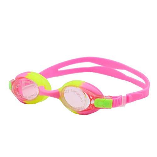 FCHDYJ Schutzbrille Professionale Silicone Anti-Fog Occhiali Da Nuoto Proteggere Ich Bambini Sport Occhiali Vetri Di Nuoto Per Ich Bambini