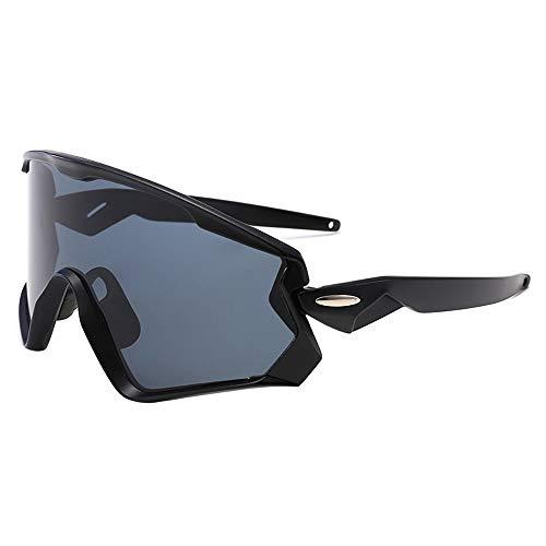 Fahrradbrillen, Sportbrillen, Wind- und Sandschutzauge, Outdoor-Sonnenbrillen mit Blendschutz, Mountainbike-Sportbrillen, Mode für Damen und Herren ! (Color : Orange)