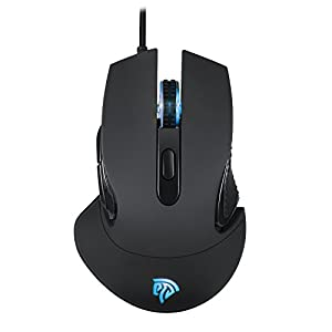 EasySMX Gaming Maus, 16 Millionen Farboptionen RGB