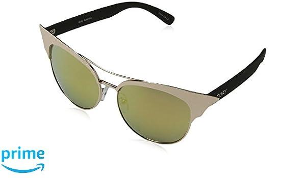 Quay Eyewear Unisex-Erwachsene Sonnenbrille Zig, Gold(Gold), 140