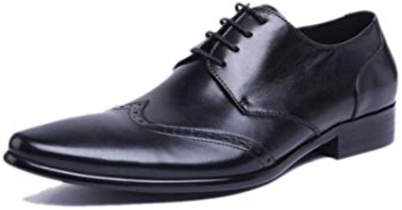GGLZMMF Scarpe Casual Casual Casual Uomo Lavoro Scarpe di Cuoio Affari Autunno Inverno Stivali | Caratteristico  | Uomini/Donne Scarpa  308ff4
