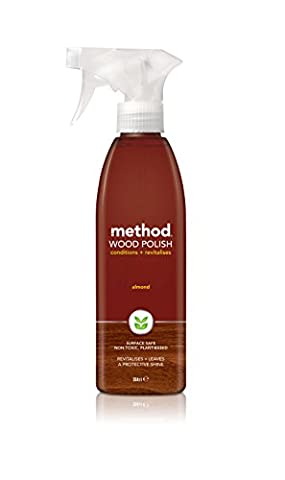 Method Touch Wood Polish Almond, 354ml (Pack of