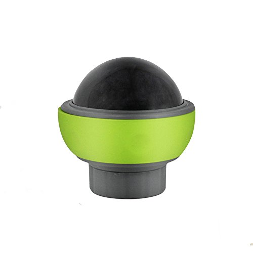 QINYL Katzen-Hundemassager-Ball, Gesundheits-Entlastungs-Muskel-Entspannungs-Trainings-Übungs-Wiederaufnahme-Massage-Ball, Rosen-Blau-Grün,Green