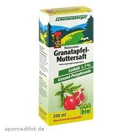 Granatapfel Muttersaft Sc 200 ml