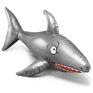 (INFLATABLE SHARK 90CM)