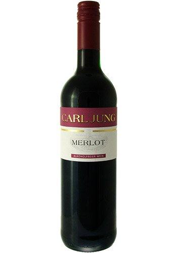 Carl Jung Merlot Alkoholfreier Wein - 0,75 Liter