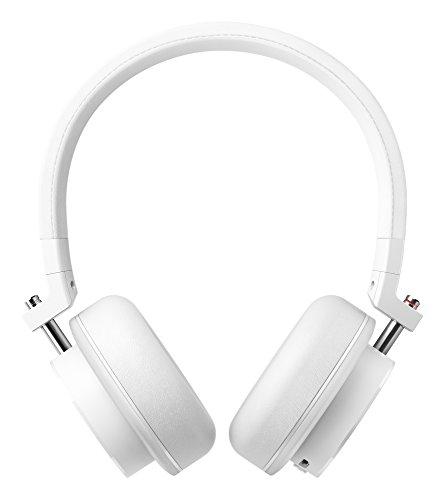 Onkyo h500btw Abonnements, ohraufliegende Kabellose Kopfhörer mit Mikrofon-Weiß H500 Bluetooth