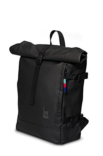 Got Bag Roll-Top Rucksack – Hochwertiger Wasserfester Backpack mit Rollverschluss – Praktischer Daypack,Uni-Schulrucksack, Laptoptasche oder Fahrradtasche für Damen und Herren (Für Got E)