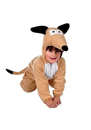 Hund Kinder Kostüm 122 - 128 für Fasching Karneval Rummelpott Kinderkostüm