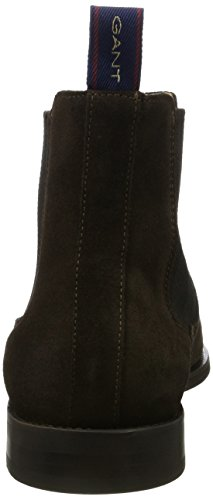Gant - Max, Stivali Chelsea Uomo Marrone (marrone scuro)