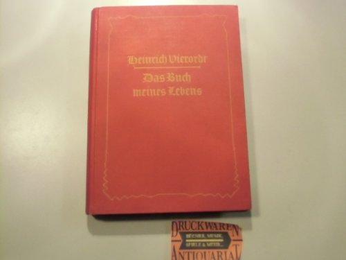 Das Buch meines Lebens - Erinnerungen.