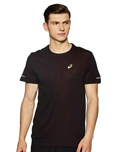 Herr Show Shirt (ASICS Cool Lite-Show Laufshirt Herren schwarz, M (48/50 EU))