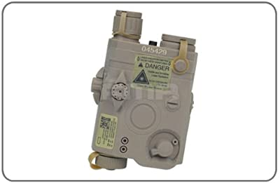 FMA PEQ-15LA-5Dummy recargable caso para Tactical Airsoft AEG pantalla de TB419(únicamente la carcasa) no para batería de larga