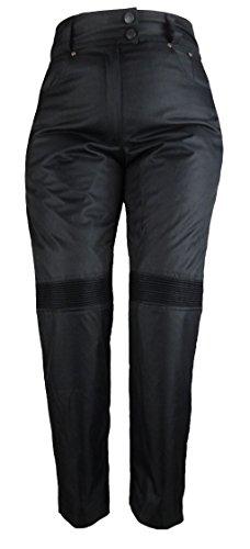 Bangla 501 Damen Motorrad Hose im Jeanslook Cordura schwarz Gr. L