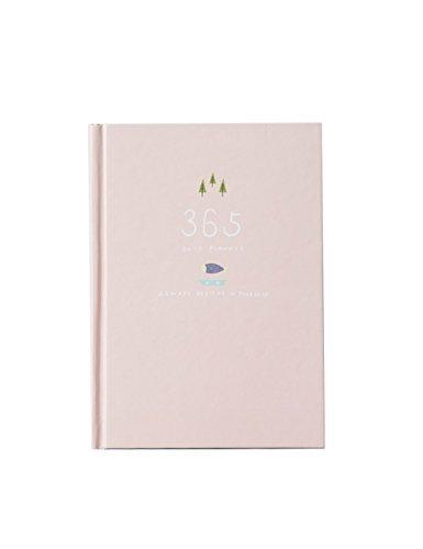 Nette 365 Tage Planer Nachfüllungen Täglich Wöchentlich Monatliche Kalender Zeitplan Notizbuch Tagebuch Gebunden To-Do-Liste Buch Agenda Organizer Schule Schreibwaren (Hell-Pink) (Kalender-buch Monatlich)