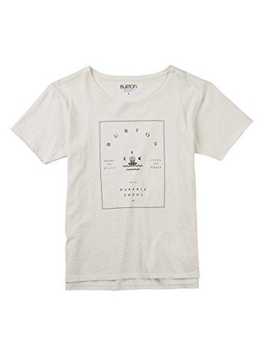 Burton Damen Night Lily Tee T-Shirt, Stout White, M -