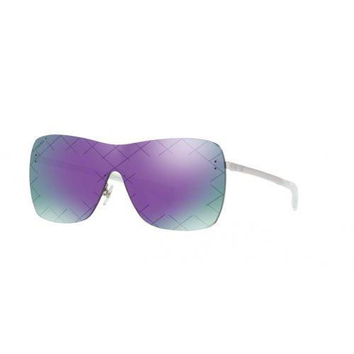 Chanel ch4215 c1244v occhiali da sole argento silver sunglasses sonnenbrille