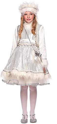 Costume di carnevale da eschimese bimba vestito per bambina ragazza 1-6 anni travestimento veneziano halloween cosplay festa party 50694 taglia 6