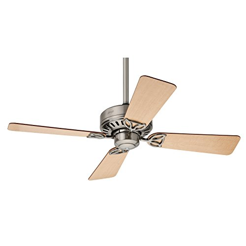 Hunter Fan 24179 Bayport Ventilateur de plafond 107 cm Nickel Brossé