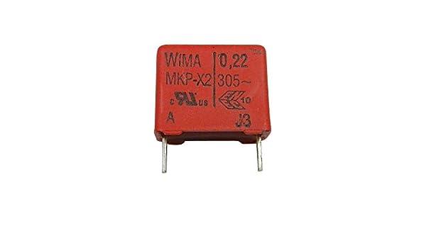 Zigzag /à coudre condensateur 0,10/MF pour YDK P/édale