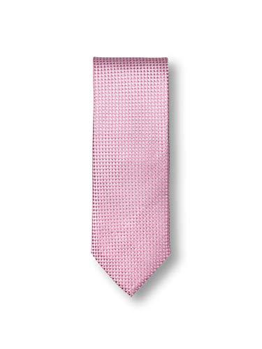 Walbusch Herren Krawatte Gebürstet gemustert Rose -