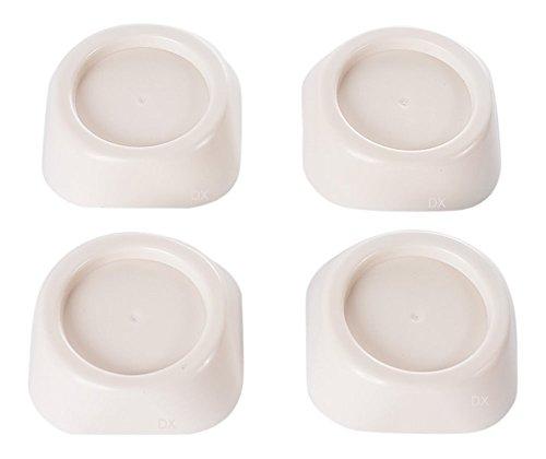 DREHFLEX® - Gummi-Schwingungsdämpfer / Vibrationsdämpfer für Füße für Waschmaschinen und...