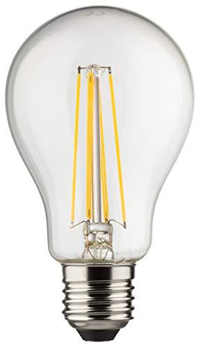 MÜLLER-LICHT Retro-LED Lampe Birnenform ersetzt 75 W, Glas, E27, 8 W, klar, 1er Set -