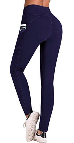63e0a4cf72 IUGA High Waist Yoga Pants Inner/Out Pocket Design UK840-BaoL-XXLarge