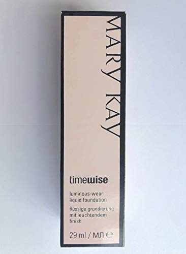 Beige 4 Mary Kay TimeWise Luminous Wear Foundation - flüssige Grundierung für normale/trockene Haut 29ml MHD 2020/21 - Matte-wear Liquid Foundation