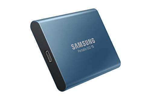 Samsung MU-PA250B/EU Portable SSD T5 250 GB USB 3.1 Externe SSD Blau