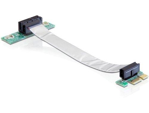 Delock 41839 Riser PCI-Express Karte (1x Slot) für 48,3 cm (19 Zoll) Gehäuse