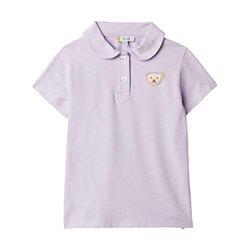 Steiff Baby-Mädchen Poloshirt, Violett (Pastel Lilac 7008), 86