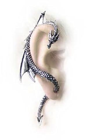 Alchemy Gothic (Metal-Wear) le Dragon s Lure Boucle d'oreille unique