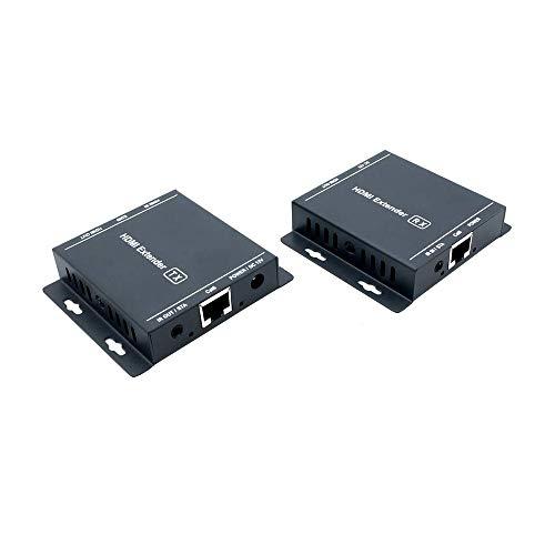 Ai LIFE HDMI-Extender Übertragung von 60 m Langen HDMI-Signalen über Cat5 / 5e / 6/7-Kabel (IR, 1080P, 3D, EDID, Loop Out) für DVR, DVD, Heimkino Ir Über Cat5