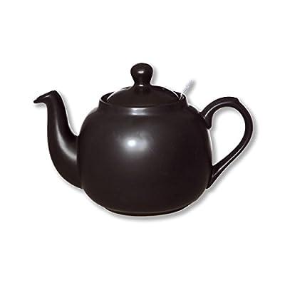 Théière en céramique avec filtre inox 1,1L noir mat - FARMHOUSE - Bruno Evrard