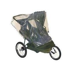 Double Jogging Stroller Rain Cover