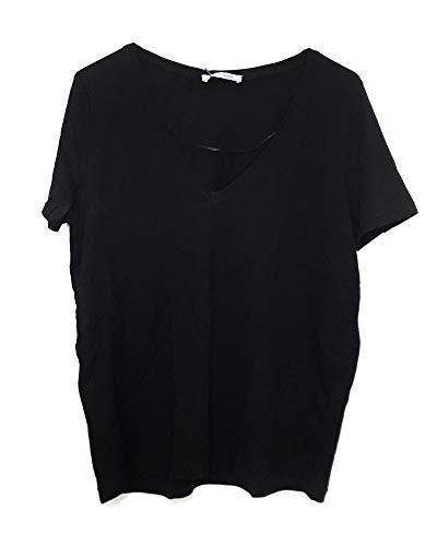 ZARA Damen Shirt mit v-Ausschnitt 4873/270 (Large) (Zara Shirt)