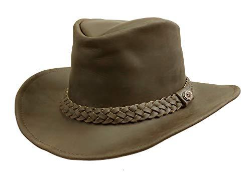 Kakadu Traders Australia - Sombrero Cowboy - para Hombre marrón 52 54 019f3ccec6c