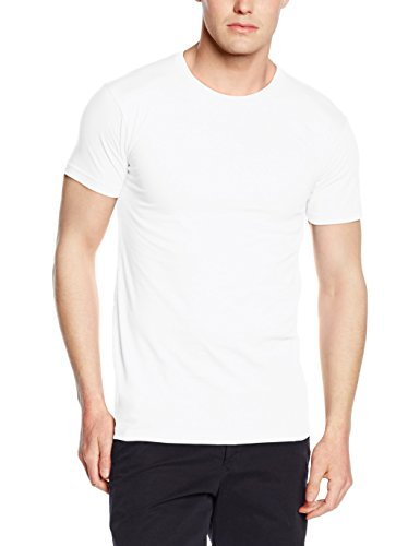 Fruit of the Loom Mens/Mädchen T-Shirt SS412 White