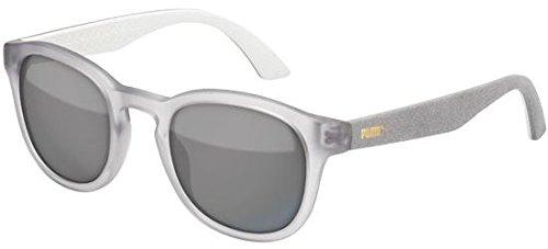 Puma - SUEDE PU0042S, Rechteckig Acetat Unisex Brillen für Erwachsene