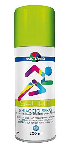 Eisspray zur Kühlung und Vereisung bei Prellungen, Kältespray bei Sportverletzungen, Kühlspray -...