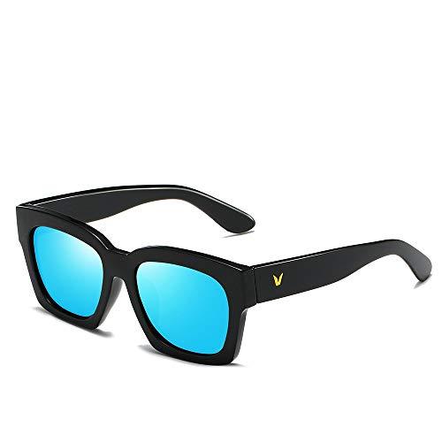 YIWU Brillen Neue V-Wort koreanische Sonnenbrille Persönlichkeit reflektierende Gläser Farbfilm Sonnenbrille Trend Sonnenbrille Brillen & Zubehör (Color : 8)